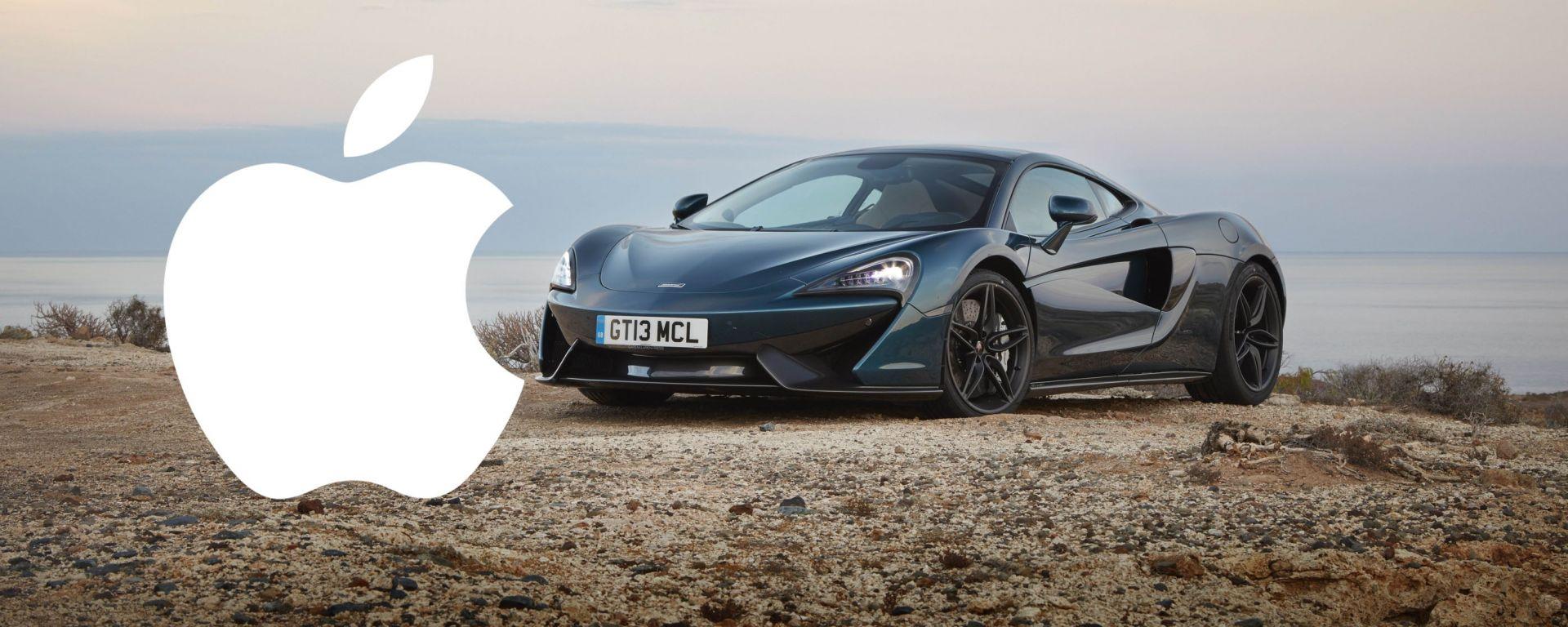 Apple sarebbe interessata ad acquistare McLaren. La notizia l'ha lanciata il Financial Times e la Casa inglese ha smentito