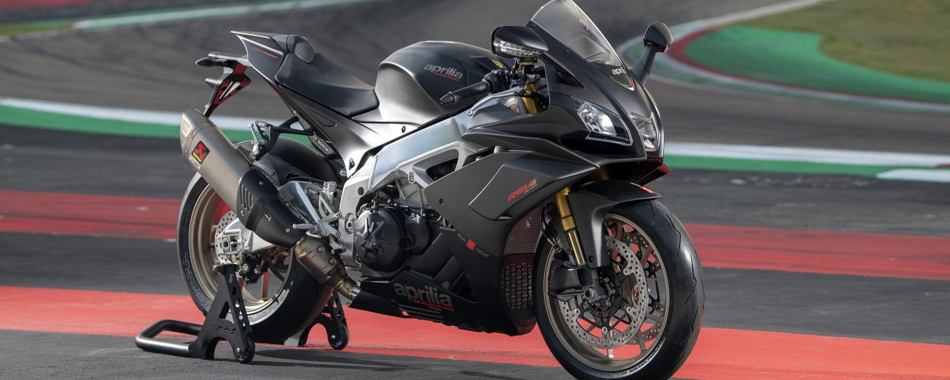 Aprilia Racer Days: in pista con la nuova gamma V4. Info e date