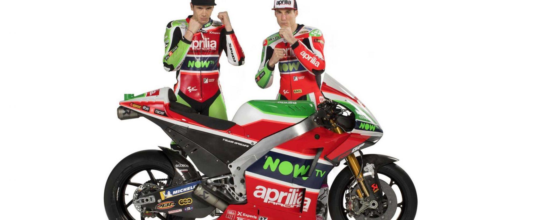 Aprilia Racing Team Gresini 2018
