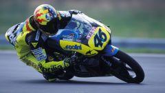 Aprilia RS 125: la moto da GP usata nel 1996 da Valentino Rossi nel Mondiale