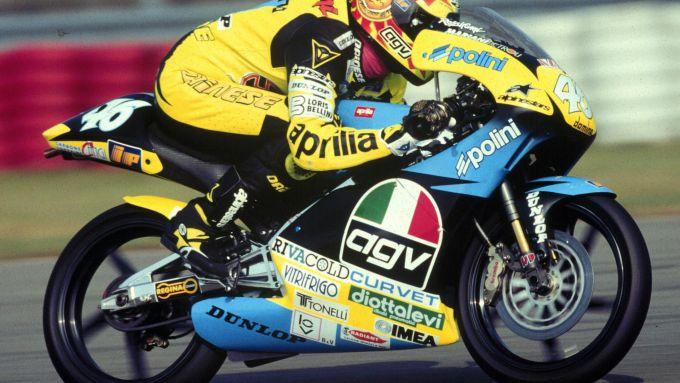 Aprilia RS 125 R di Valentino Rossi (1996)