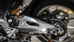 Aprilia RSV4 1100 Factory 2019: il nuovo forcellone in alluminio