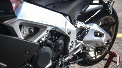 Aprilia RSV4 1100 Factory 2019: il telaio è invariato