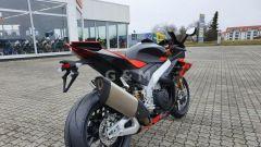 Aprilia RSV4 Factory 2021: il posteriore