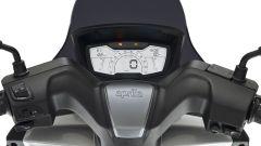 Aprilia SXR 50, il display LCD può avere la connettività Bluetooth