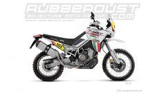 Aprilia Tuareg 660 Rally: Rubberdust Design la immagina così