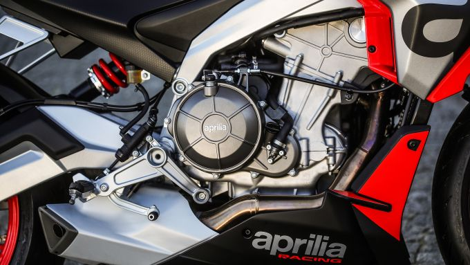 Aprilia Tuono 660: il motore