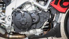 Aprilia Tuono V4 1100 Factory 2019: il motore eroga 175 cv e 122 Nm di coppia massima