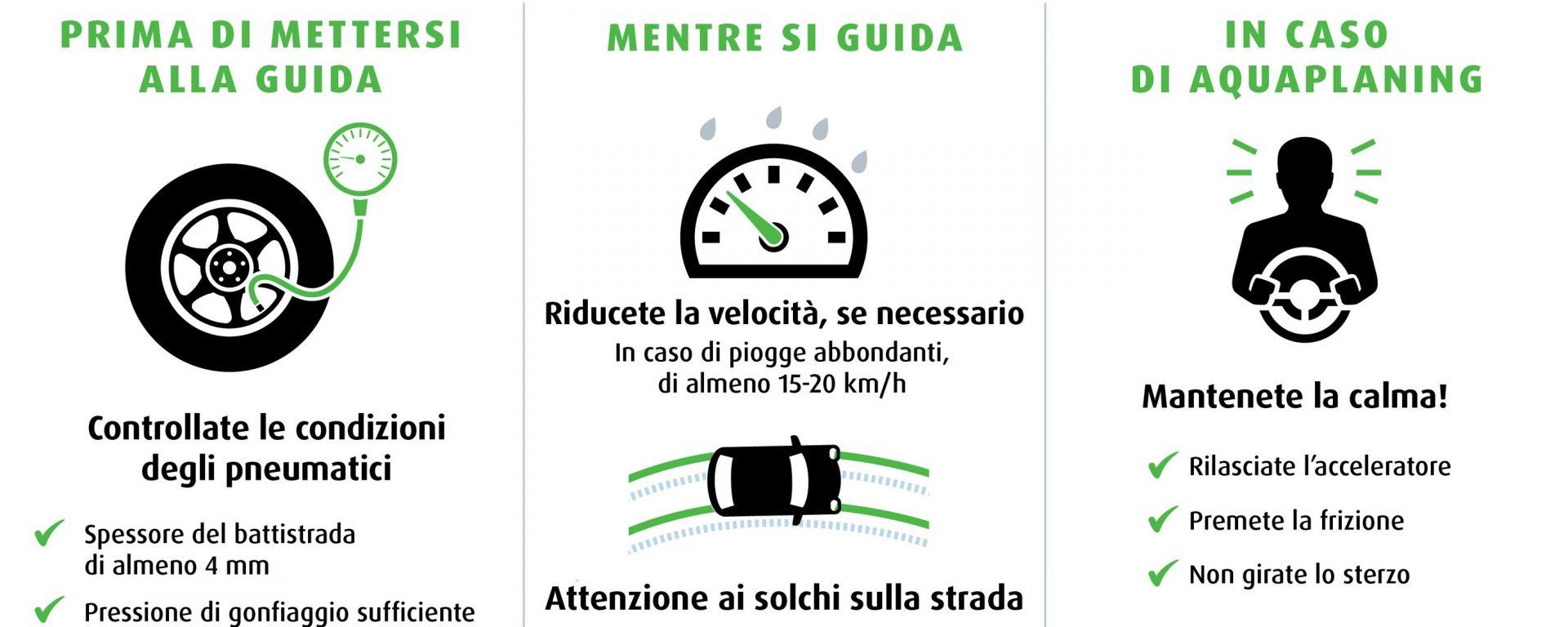 Come guidare (in sicurezza) sotto la pioggia. I consigli di Nokian