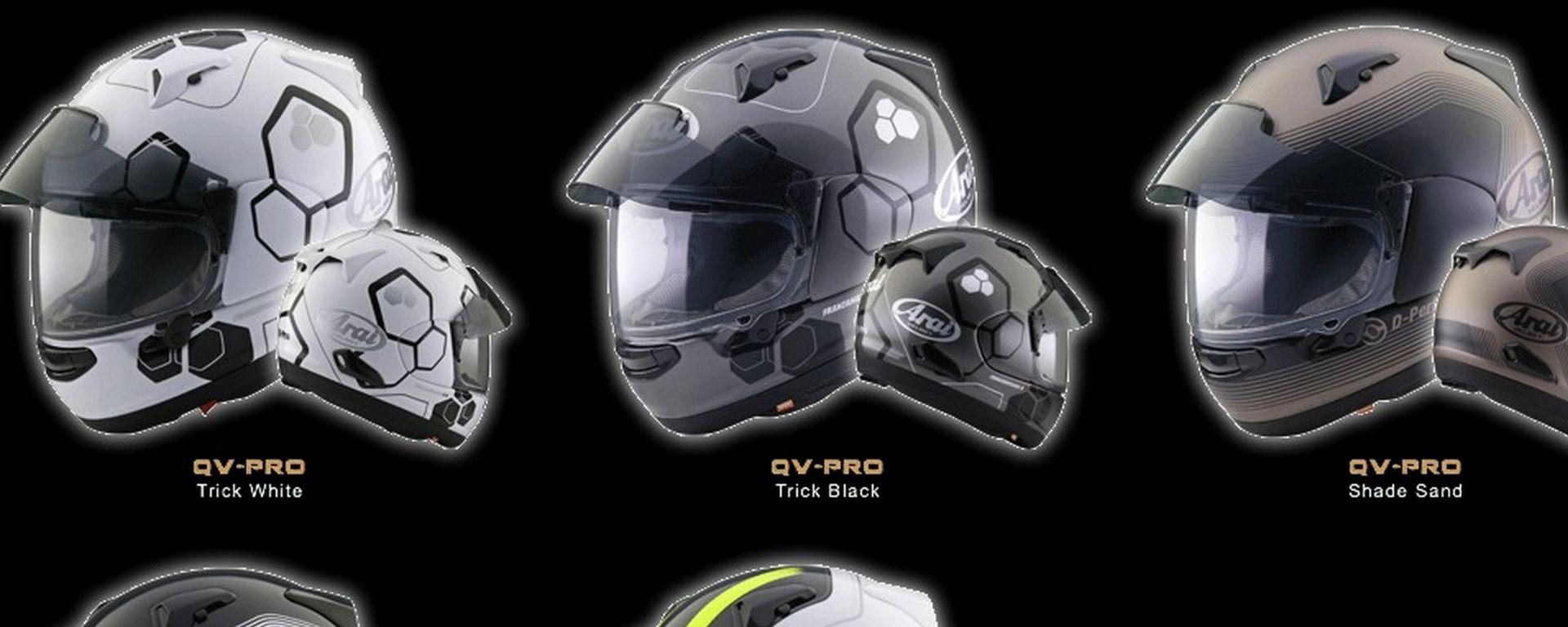 Arai QV-Pro e RX-7V