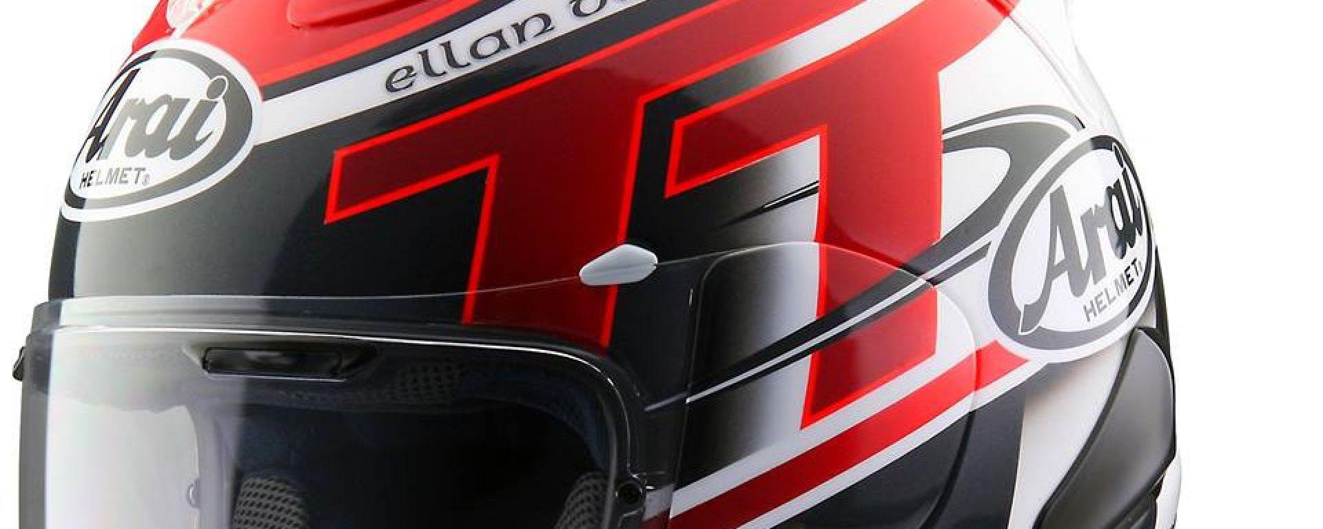 Arai RX-7V: una nuova colorazione celebra il TT 2016