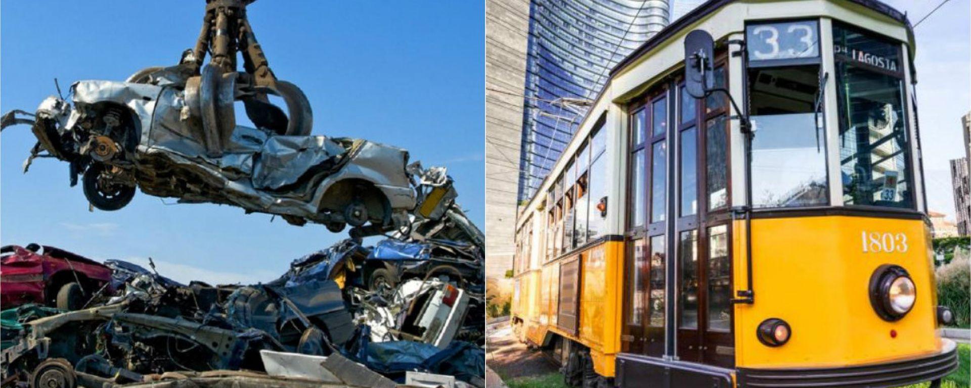 Area B: a Milano abbonamento mezzi pubblici a un terzo del prezzo per chi rottama