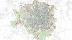Area B Milano, la mappa