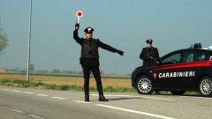 Arezzo: 20enne tenta la fuga, i Carabinieri lo bloccano e multano