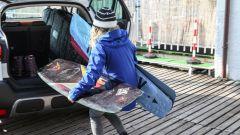 Arianna Cau, campionessa di wakeboard, carica la sua Citroen C3 Aircross