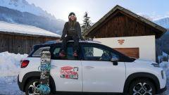 Arianna Cau e la sua Citroen C3 Aircross