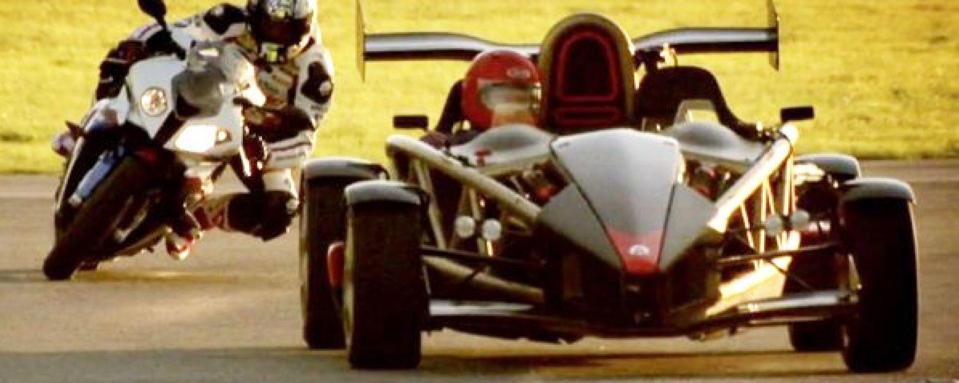 Ariel Atom vs BMW S1000RR