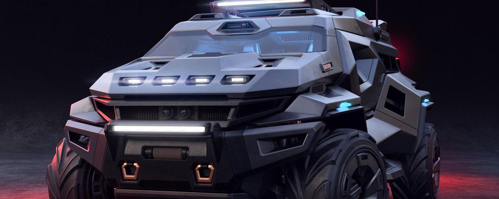 Armortruck, il SUV da 2000 CV pronto per l'Apocalisse
