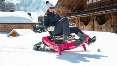 Arosno E-Trace, la prima slitta da neve a pedalata assistita