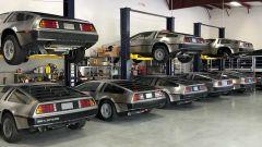 Arriva Dorian e le DeLorean vengono messe al sicuro