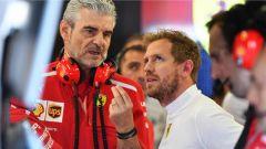 Arrivabene e Vettel - Scuderia Ferrari