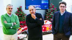 Arrivabene, Marchionne e Binotto - Scuderia Ferrari