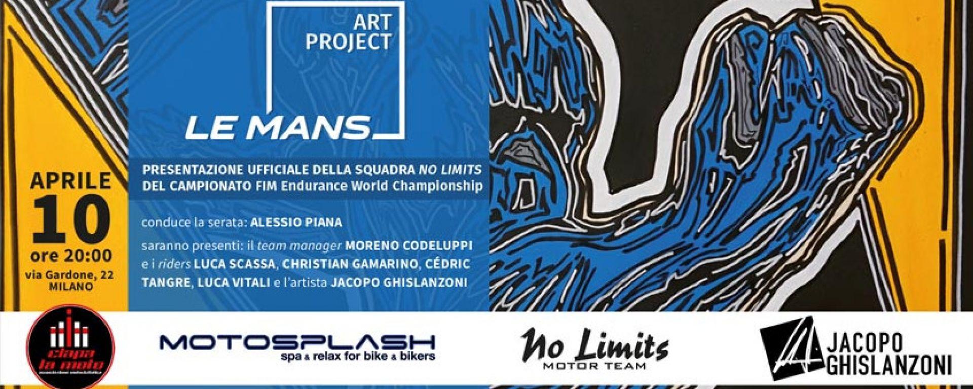 Ciapa La Moto invita alla serata Le Mans art project