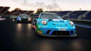 Assetto Corsa: un'immagine del gioco in versione PlayStation 5