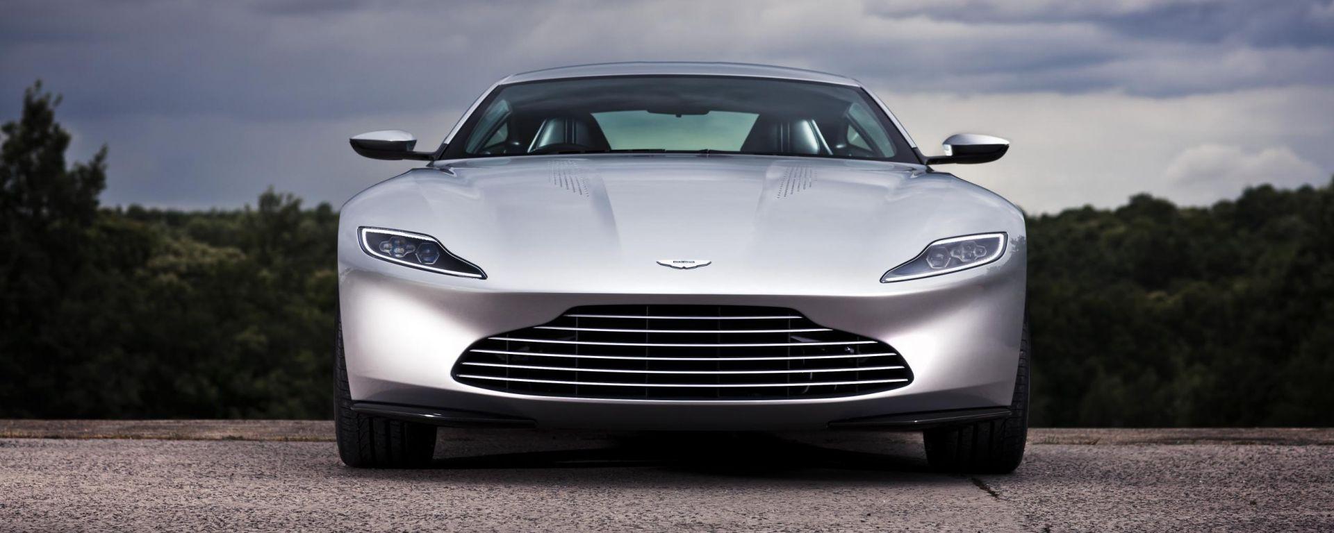 Asta benefica per l'Aston Martin DB10 di James Bond