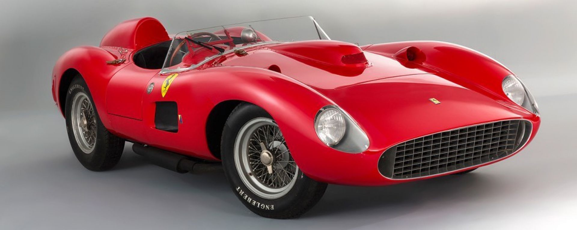 All'asta una Ferrari 335S Spider Scaglietti del 1957