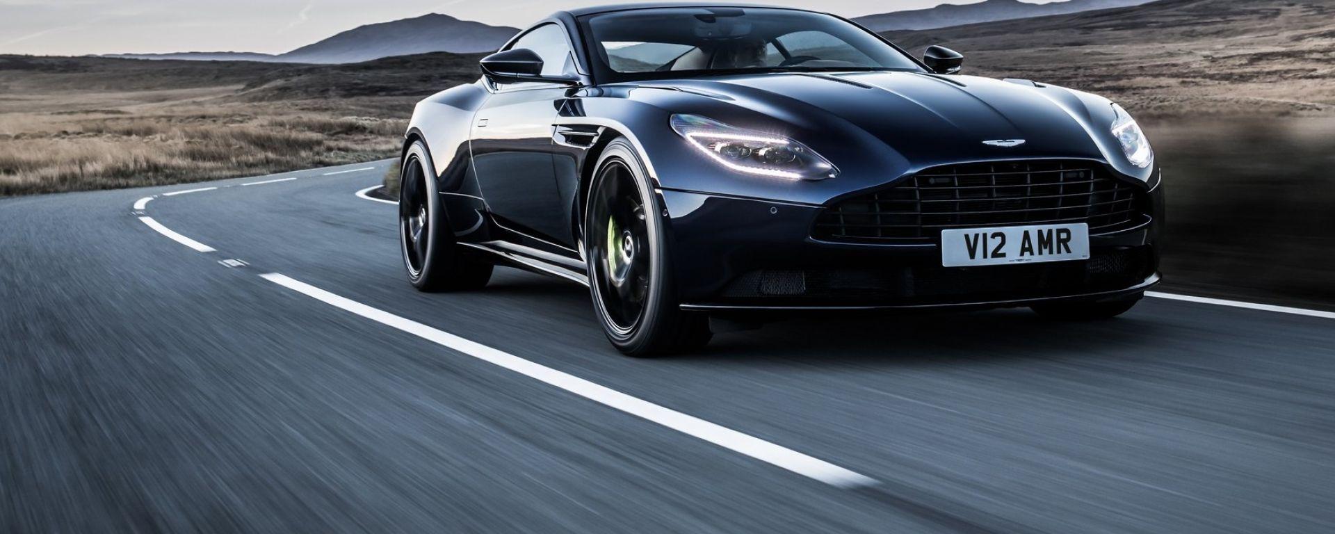 Aston Martin DB11 AMR, ecco la DB11 da sparo