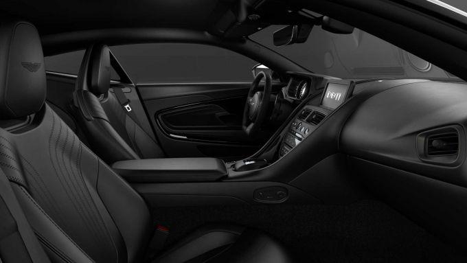 Aston Martin DB11: dettaglio dell'abitacolo