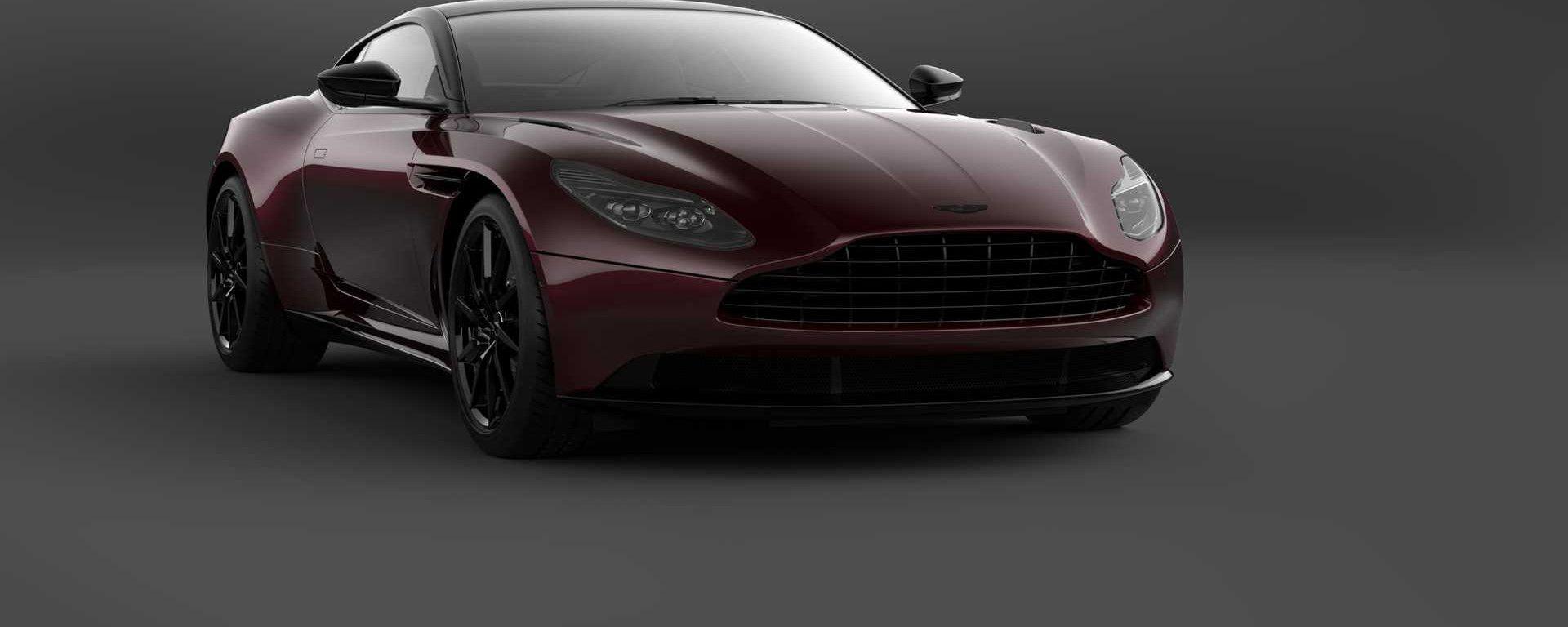 Aston Martin DB11 Shadow Edition: vista frontale