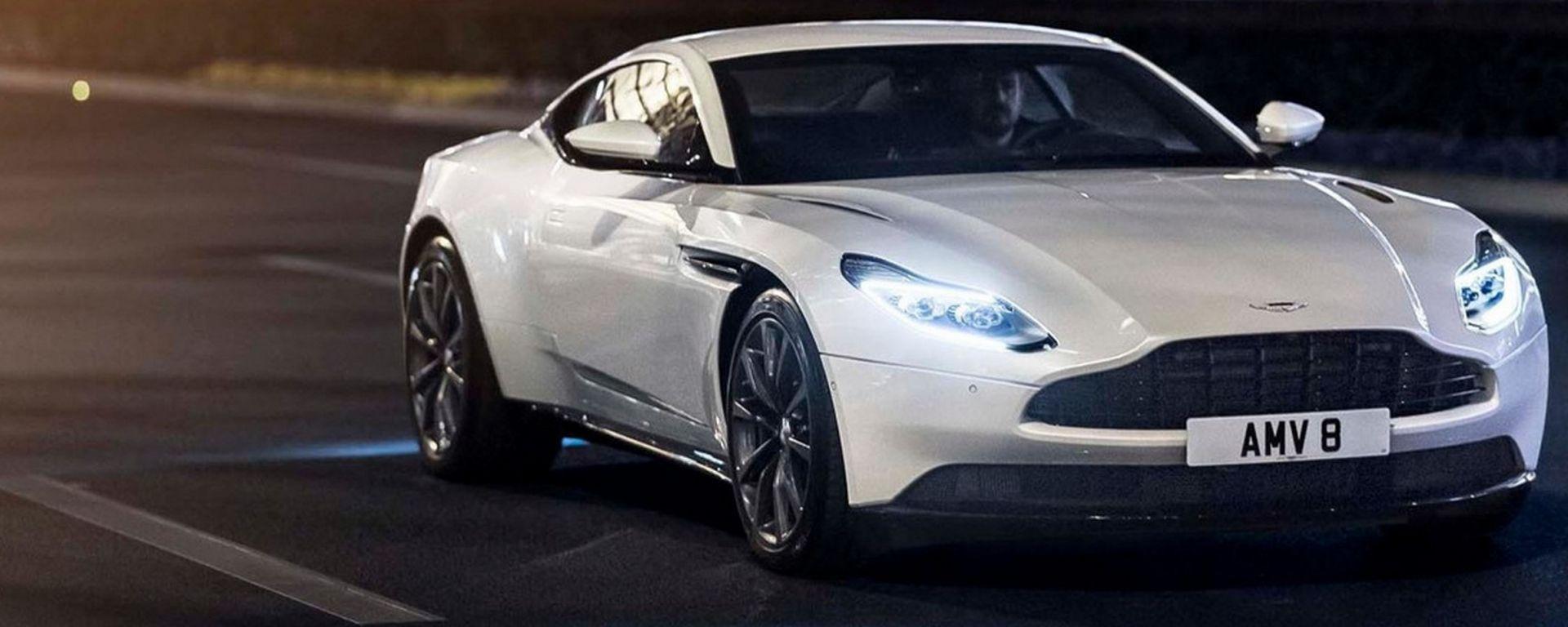 Aston Martin DB11 V8: eccola con il motore Mercedes-AMG
