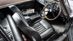 Aston Martin DB5:  dettagli sedili