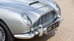 Aston Martin DB5:  dettaglio anteriore