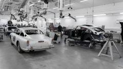 Aston Martin DB5 Goldfinger Continuation: la linea di montaggio