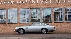 Aston Martin DB5: laterale