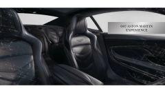 Aston Martin DBS Superleggera disegnata da Daniel Craig: gli interni secondo 007
