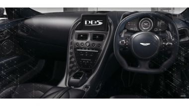 Aston Martin DBS Superleggera disegnata dallo 007 Daniel Craig: interni