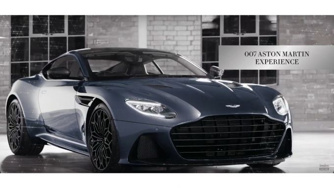 Aston Martin DBS Superleggera disegnata dallo 007 Daniel Craig