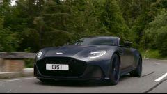 Aston Martin DBS Superleggera: un frammento del video