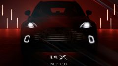 Aston Martin DBX, anteprima a Pechino il 20 novembre