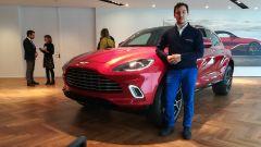 Aston Martin DBX: dal vivo il nuovo SUV extralusso in video - Immagine: 1