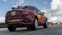 Aston Martin DBX, vista posteriore