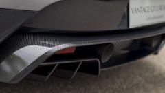 Aston Martin GT12 Roadster, lo scarico in titanio