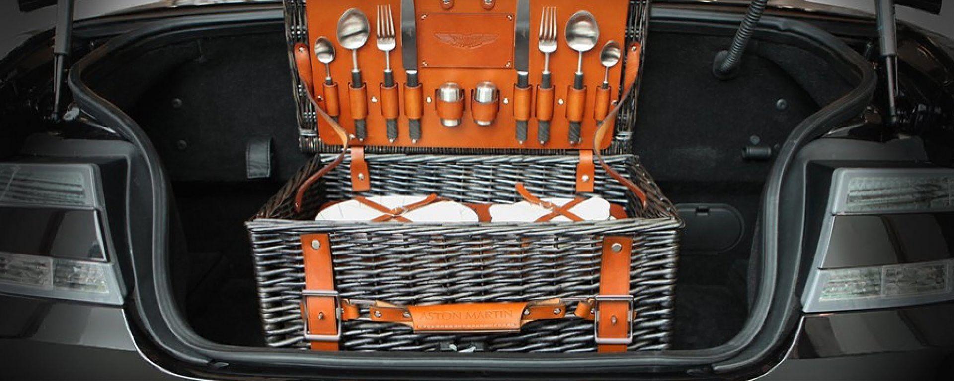Aston Martin: il cesto da pic-nic