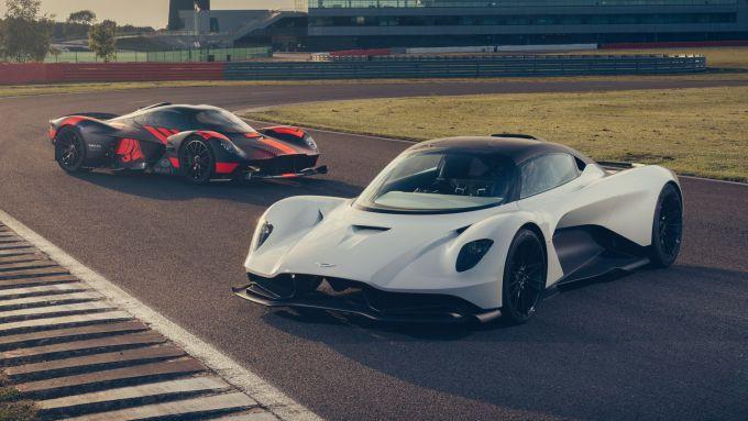 Aston Martin: la nuova supercar Valhalla