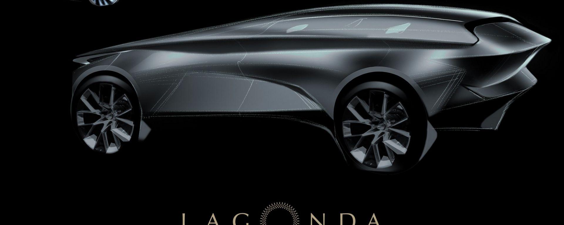 Aston Martin Lagonda: il teaser del SUV elettrico in uscita nel 2021