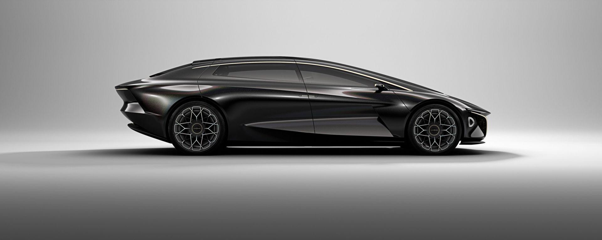 Aston Martin Lagonda Vison Concept: lusso elettrico